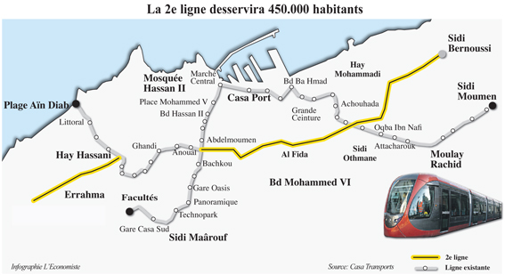 Casablanca : la question des transports   amnistiegenerale